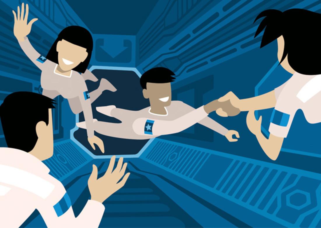 Über das Training von Astronauten und anderen Managern