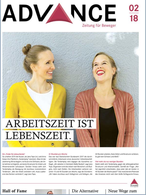 Advance – Zeitung für Beweger!
